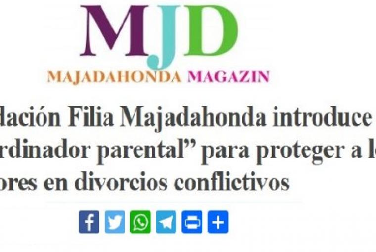 Majadahonda Magazin publica la puesta en marcha del Servicio de Coordinación Parental