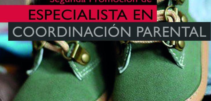 Cartel de la Segunda Promoción Curso de Especialista en Coordinación Parental