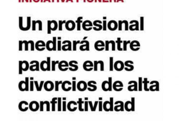 Cataluña ensaya el Coordinador Parental en 20 procesos de alta conflictividad