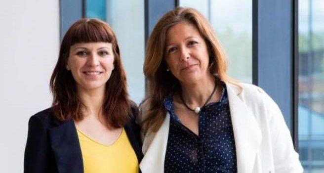 Laura de Blas y Ana García, coordinadoras parentales de la Fundación Filia en la Comunidad de Madrid.